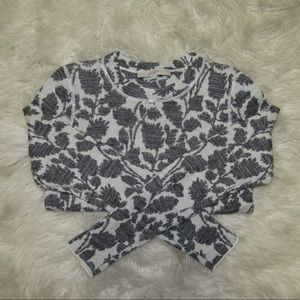 LOFT printed sweater